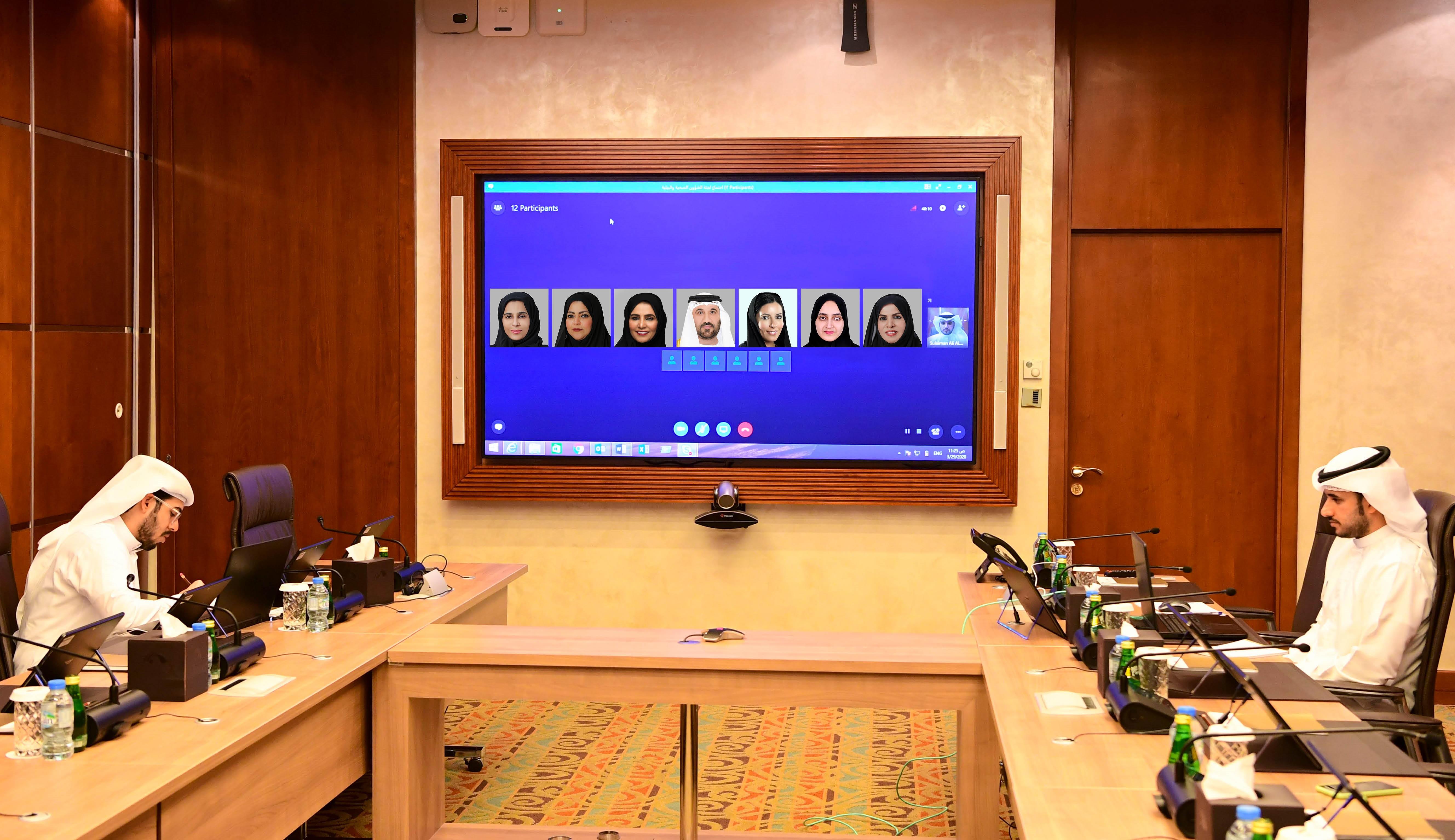 """الإمارات.. لجنة متخصصة تواصل """"عن بعد"""" مناقشة مواد مشروع قانون إتحادي بشأن الصحة العامة"""