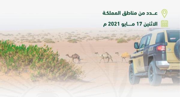 #السعودية | #القوات_الخاصة_للأمن_البيئي توقف (55) مخالفًا لـ #نظام_البيئة لارتكابهم مخالفات رعي